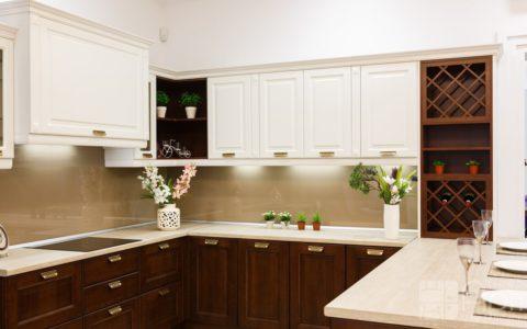 Фото кухни с барной стойкой для гостиной